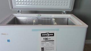Unboxing the Danby Designer 5.1 cu. ft Chest Freezer DCF051A1WDD