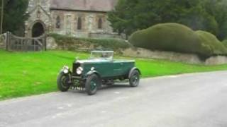 VINTAGE CAR FILM - 1928 Morris Super Sports Tourer