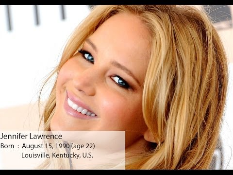 Actress Jennifer Lawrence movies list - YouTube