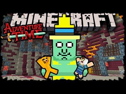Minecraft: Adventure Time with Finn Jake Herobrine's Return Adventure Map Episode 5 Needy Giant