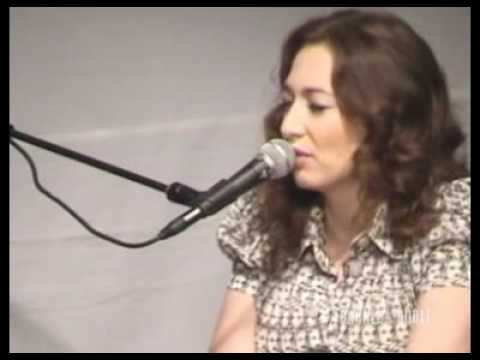 Regina Spektor Laughing with @ Barnes & Noble