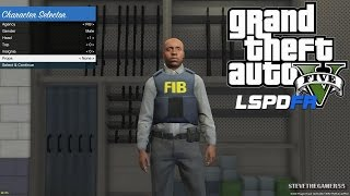GTA 5 - LSPDFR - EPiSODE 19 - LET'S BE COPS - FBI/ FIB PATROL (GTA 5 PC POLICE MODS) LSPDFR 0.2