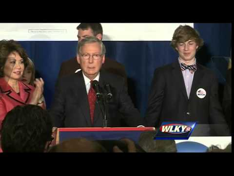 Complete video: Mitch McConnell victory speech