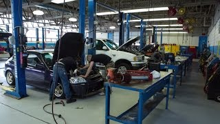 Automotive Technology Program at Macomb Community College