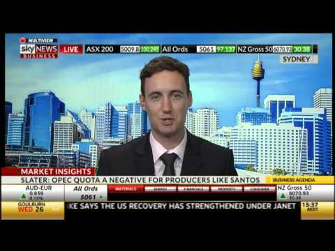 Sky News Business - Chad Slater insights on OPEC new quotas agreement