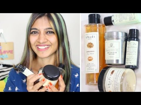 KHADI HAUL & REVIEW | Affordable & Natural Hair Care, Skin Care _ #12 Budget Beauty | SuperWowStyle