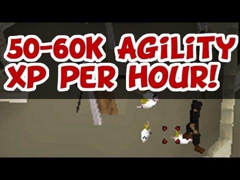 RuneScape 2007 – 50-60K Agility XP Per Hour! (Toy Mice)