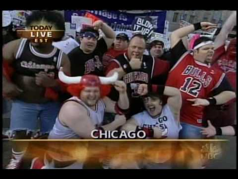 Chicago Bulls Matadors on the Today Show