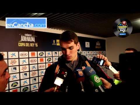 Mario Hezonja - Post final Copa del Rey 2015 - 22/02/2015