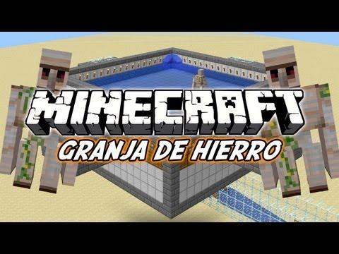 Minecraft Tutorial: Granja de Hierro (Funciona en 1.7.2)