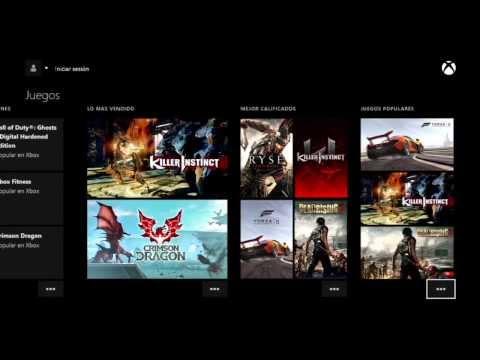 XBOX ONE    Repaso al MENU DASHBOARD INTERFAZ   Configuración. Voz y Kinect QR   Aplicaciones XB1M13