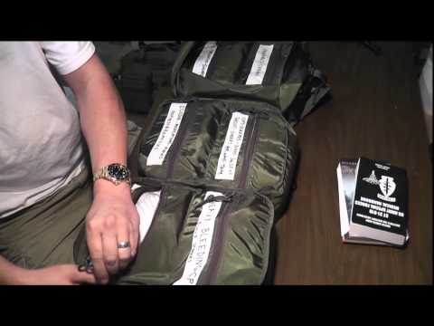 SHTF First Aid Kit - M17 Medical Bag Pt1 - reload pt1/2