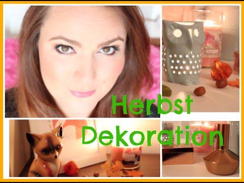 DEKORATION für den HERBST / Home & Living Inspiration