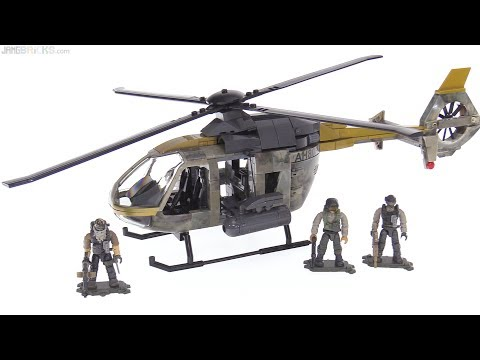 Mega Construx Call of Duty Urban Assault Copter review