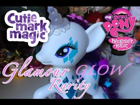 Glamuor Glow Rarity - CUTIE MARK MAGIC - My Little Pony: Friendship is Magic - Review / Recensione