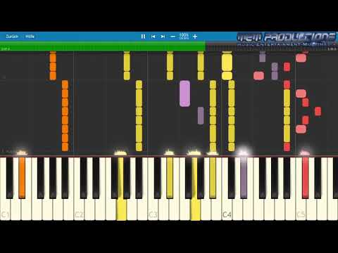 Piano Tutorial: David Guetta feat. Kid Cudi - Memories + MIDI Download