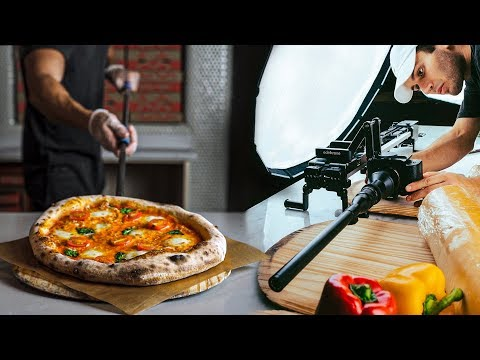 HOW I FILM EPIC PIZZA B ROLL | Behind the Scenes