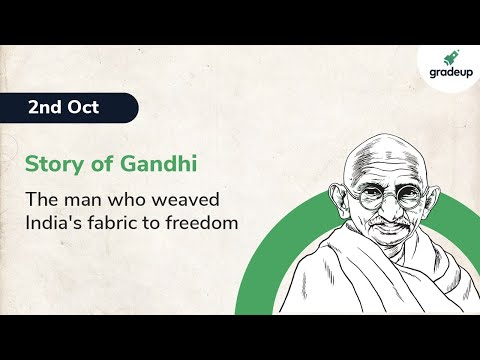 Story of Mahatma Gandhi: The man who weaved India's fabric to freedom