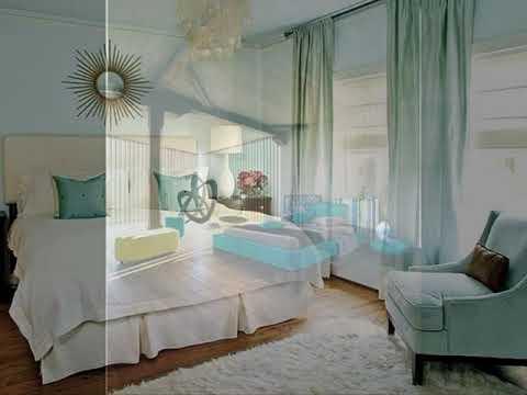 Light Aqua ad grey bedroom decorating ideas