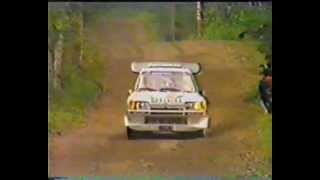 Group B Rally 1000 Lakes Finland 1986