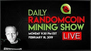 RandomCoin Mining Show LIVE! ⛏ - ElyaCoin (ELYA) - CryptoNight