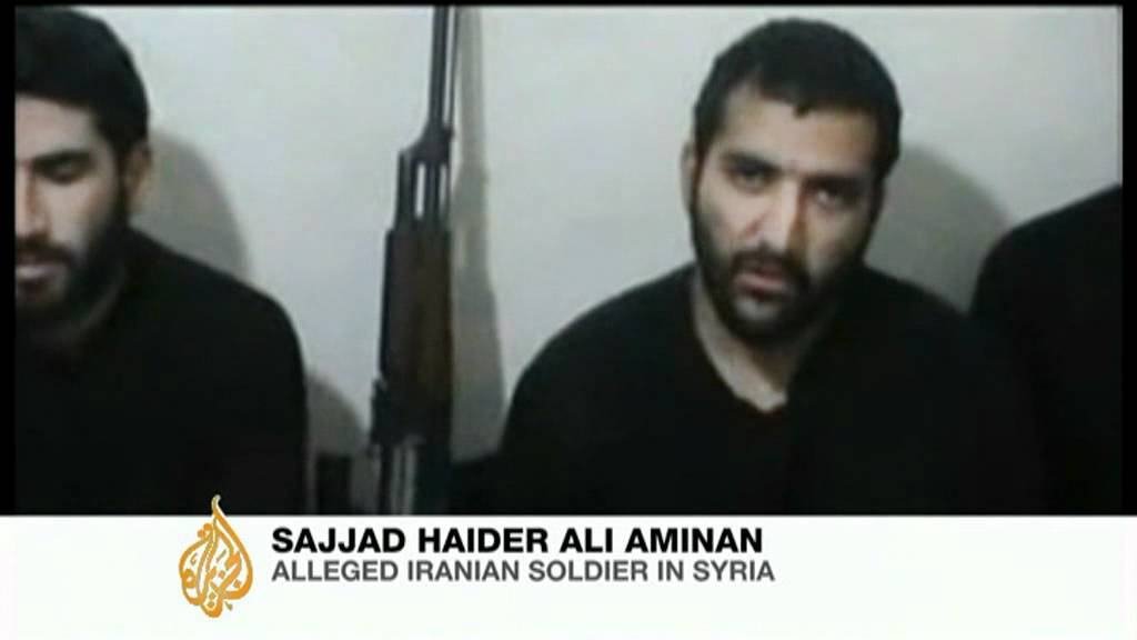 Free syrian army says it captured five iranian soldiers youtube