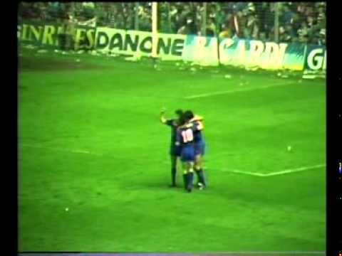 Semifinal Copa del Rey 1986 - Athletic Club 1 FC Barcelona 2