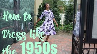 How to Dress Like the 1950s feat. ACEVOG