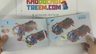 Hướng dẫn lắp ráp Lepin 20075 Lego Technic 42084 Hook Loader giá sốc rẻ nhất