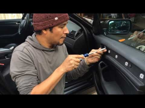 BMW Removing Door Panel Replacing Window Regulator