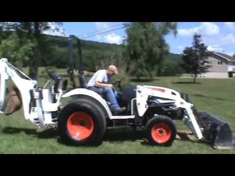 2011 Bobcat CT235 Compact Tractor Loader Backhoe TLB 4x4 For Sale Mark Supply Co