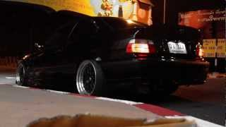 BMW E36 Coupe 2JZ GTE - HKS F-Con V Pro [Back View]