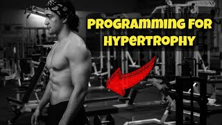 How To PROPERLY Program For Hypertrophy (Practical Science)  ft. Dr. Eric Helms
