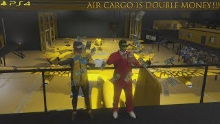 Grand Theft Auto Online 18/01/2019 Air Cargo is double money on sales!  💰💰💰💰 🚁🚁🚁