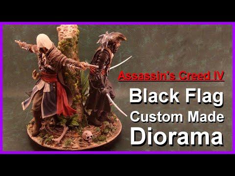 Assassin's Creed 4 Black Flag Custom Made Diorama (Last Stand)