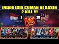 GILA !!! INDONESIA Cuman Diberi 2 KILL !!! MALAYSIA VS INDONESIA Arena Contest