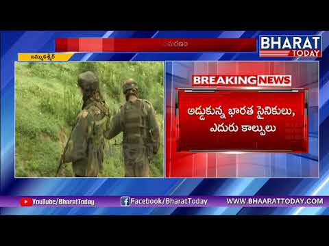 Soldier Martyred, 2 Terrorists Killed In Encounter In Bandipora   J&K   Bharattoday