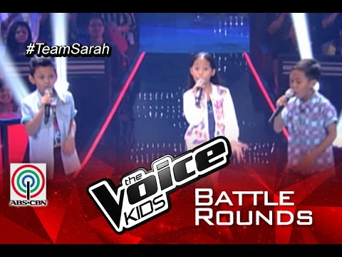 "The Voice Kids Philippines 2015 Battle Performance: ""Tuwing Umuulan"" by Gian vs Krystle vs Rock"