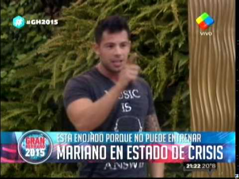"""La increíble """"crisis"""" de Mariano que cambió la rutina del programa"""