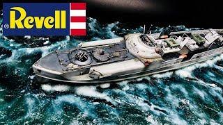 FULL VIDEO BUILD REVELL Schnellboot S-100