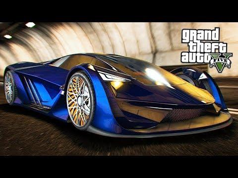 GTA 5 ONLINE - НОВАЯ САМАЯ ДОРОГАЯ МАШИНА за 3.500.000$ PEGASSI TEZERACT!! (Обновление ГТА 5)