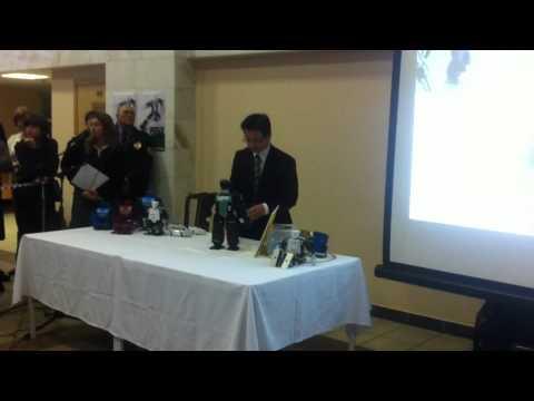 Hiroshi Ishiguro's robots in Bauman's University (part 3)