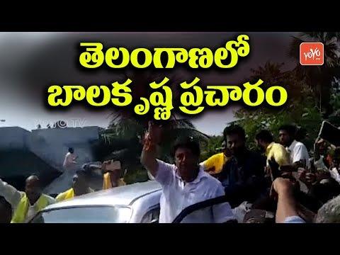 Tollywood Actor Nadamuri balakrishna Tribute to  B R Ambedkar at Rayapatnam | Khammam | YOYO TV