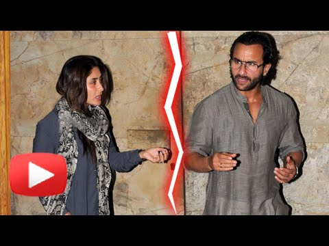 SHOCKING! Kareena Kapoor To Leave Saif Ali Khan?