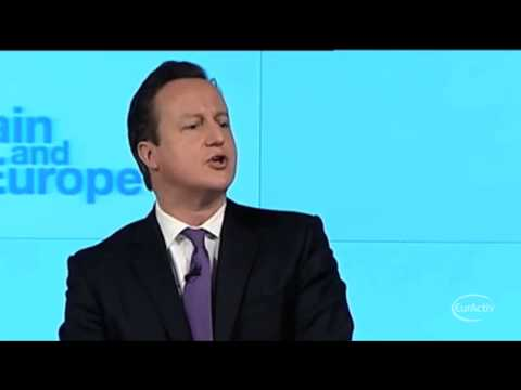 UK Cameron promises in/out referendum on EU membership
