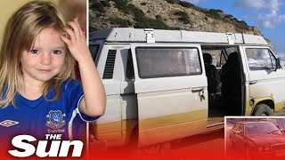 Madeleine McCann cops reveal prime suspect as German man living in campervan