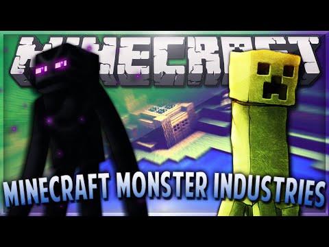 Minecraft 1.8 MONSTER INDUSTRIES PVP #1 with Vikkstar, Pete & Preston