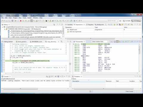 Viewing mixed C and Assembly (ASM)