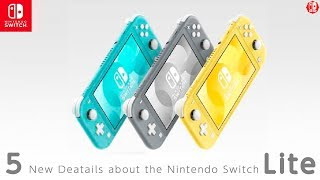 5 Switch Lite DETAILS That Were NOT In The Nintendo Switch Lite REVEAL!