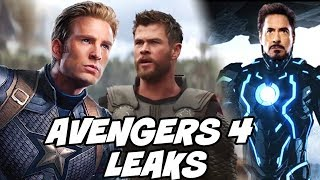 Avengers 4 Start new Leaks and Theories after Avengers Infinity War